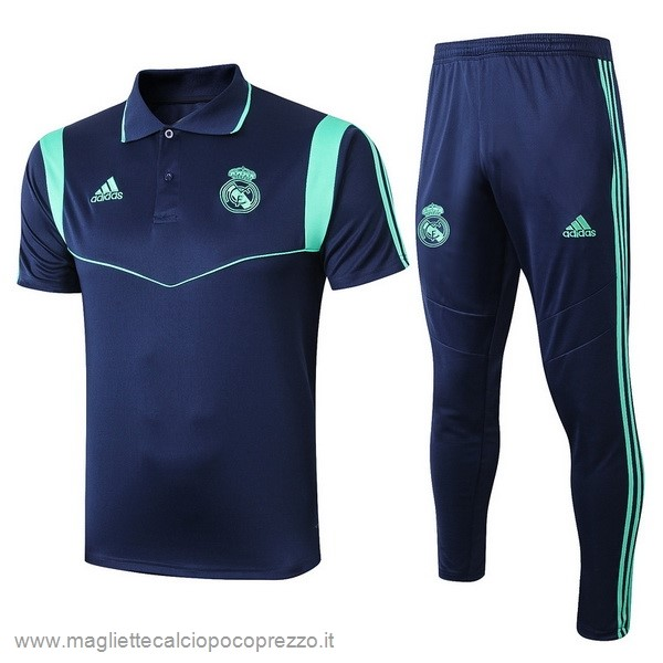 Comprare Set Polo Real Madrid 2019 2020 Blu
