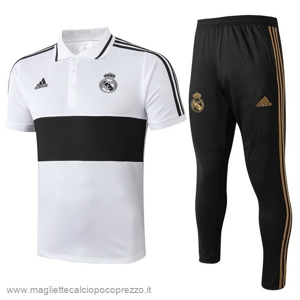 Comprare Set Polo Real Madrid 2019 2020 Bianco